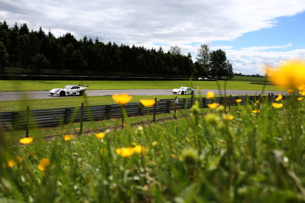 2017 Ginetta GT4 Supercup,  Croft, North Yorkshire. 10th-11th June 2017, Callum Pointon HHC Motorsport Ginetta G55 World copyright. JEP/LAT Images