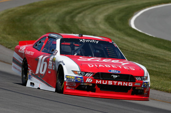 NASCAR XFINITY Series Pocono Green 250 Pocono Raceway, Long Pond, PA USA Friday 9 June 2017 Ryan Reed, Lilly Diabetes Ford Mustang World Copyright: Matthew T. Thacker LAT Images ref: Digital Image 17POC1mt1166