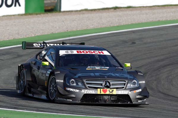 2012 DTM Championship Round 10 - Hockenheim, Germany 19th - 21st October 2012 Ralf Schumacher (GER), Team HWA AMG Mercedes, AMG Mercedes C-Coupe. World Copyright:  XPB Images / LAT Photographic ref: Digital Image 2403329_HiRes