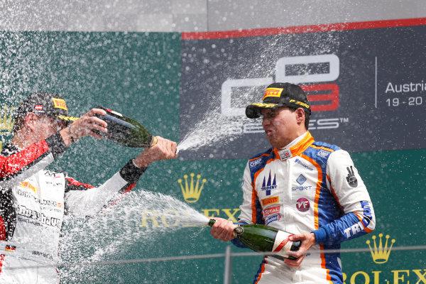 2015 GP3 Series Round 2. Red Bull Ring, Spielberg, Austria. Sunday 21 June 2015. Oscar Tunjo (COL, Trident)  Photo:  Alastair Staley/GP3 Media Service ref: Digital Image _R6T4990