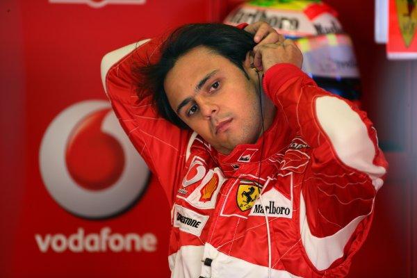 2006 Australian Grand Prix - Saturday Qualifying, Albert Park, Melbourne. Australia. Felipe Massa, Ferrari 248F1, portrait. 1st April 2006  World Copyright: Steve Etherington/LAT Photographic ref: 48mb Hi Res Digital Image Only