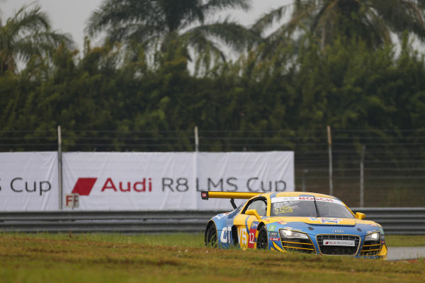Alex Au (HKG) CTVS Racing Team at Audi R8 LMS Cup, Rd4, Sepang, Malaysia, 4-6 September 2015.