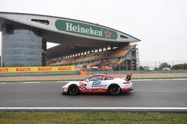 Samsung Chan (HKG) Earl Bamber Motorsport at Porsche Carrera Cup Asia, Shanghai, China, 13-15 April 2018.