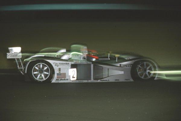 2000 Le Mans 24 Hours.Le Mans, France.17-18 June 2000.Max Angelelli/Wayne Taylor/Eric van de Poele (Cadillac Northstar LMP).World - Bloxham/LAT Photographic