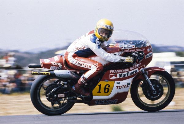 Philippe Coulon, Suzuki.
