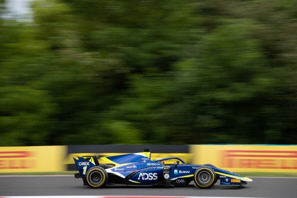 HUNGARORING, HUNGARY - AUGUST 02: Louis Deletraz (CHE, CARLIN) during the Hungaroring at Hungaroring on August 02, 2019 in Hungaroring, Hungary. (Photo by Joe Portlock / LAT Images / FIA F2 Championship)