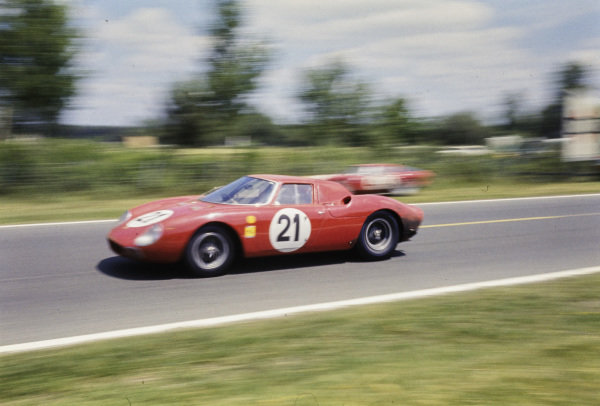 Masten Gregory / Jochen Rindt / Ed Hugus, North American Racing Team, Ferrari 275LM, 1st position.