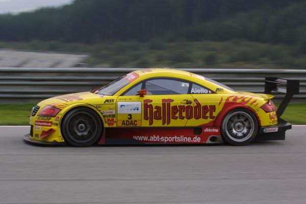 2002 DTM Championship A1 Ring, Austria. 7th - 8th September 2002. Laurent Aiello (Abt Audi), action.World Copyright: Andre Irlmeier/LAT Photographic
