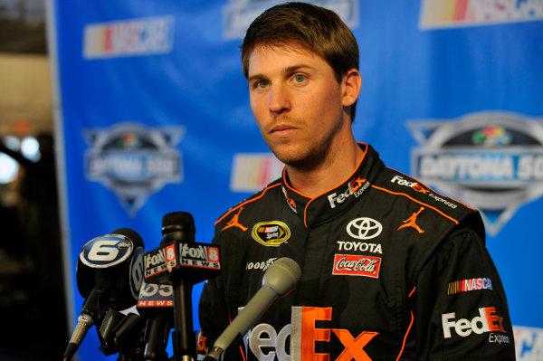 16 February, 2012, Daytona Beach, Florida, USADenny Hamlin(c)2012, LAT SouthLAT Photo USA