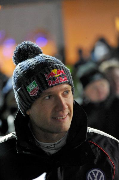 Round 02 - Rally Sweden 09-12 February 2012. Sebastien Ogier, Skoda S2000, Portrait  Worldwide Copyright: McKlein/LAT