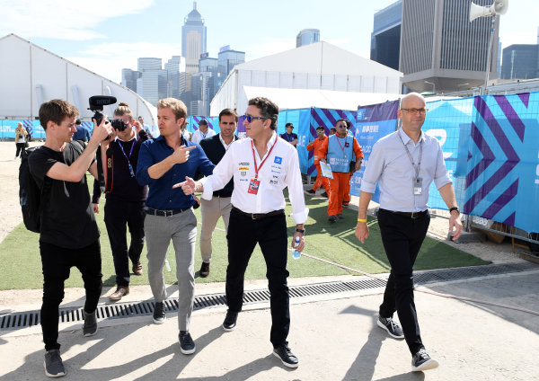 2017/2018 FIA Formula E Championship. Round 1 - Hong Kong, China. Saturday 02 December 2017. Nico Rosberg Photo: Sam Bagnall/LAT/Formula E ref: Digital Image SB1_6176