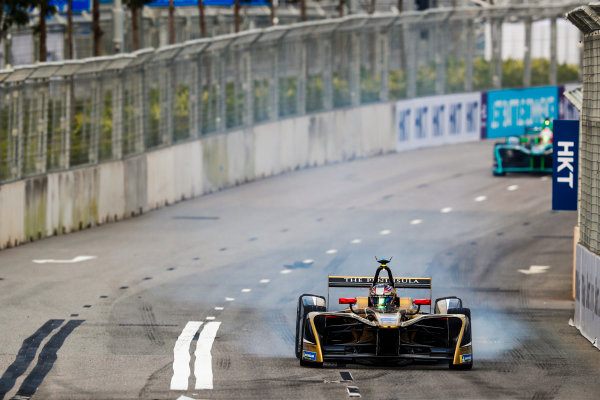 2017/2018 FIA Formula E Championship. Round 1 - Hong Kong, China. Saturday 02 December 2017.Jean Eric Vergne (FRA), TECHEETAH, Renault Z.E. 17. Photo: Sam Bloxham/LAT/Formula E ref: Digital Image _J6I4005