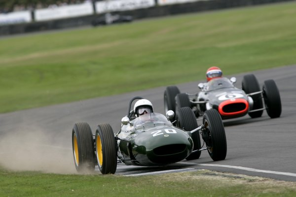 2007 Goodwood Revival Meeting.  Goodwood, West Sussex. 1st - 2nd September 2007.  Glover Trophy.  Frank Sytner runs wide. World Copyright: Gary Hawkins/LAT Photographic  ref: Digital Image Only