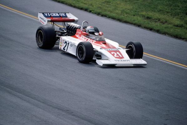 1975 USAC Indycar Series.Pocono, PA, USA. 29th June 1975.Mario Andretti (Eagle-Offenhauser).World Copyright: Murenbeeld/LAT Photographic