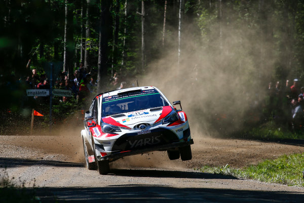 2017 FIA World Rally Championship, Round 09, Rally Finland / July 27 - 30, 2017, Juho Hanninen, Toyota WRC, Action  Worldwide Copyright: McKlein/LAT
