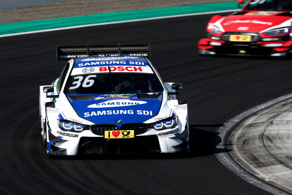 2017 DTM Round 3 Hungaroring, Budapest, Hungary. Sunday 18 June 2017. Maxime Martin, BMW Team RBM, BMW M4 DTM World Copyright: Alexander Trienitz/LAT Images ref: Digital Image 2017-DTM-R3-HUN-AT2-1957