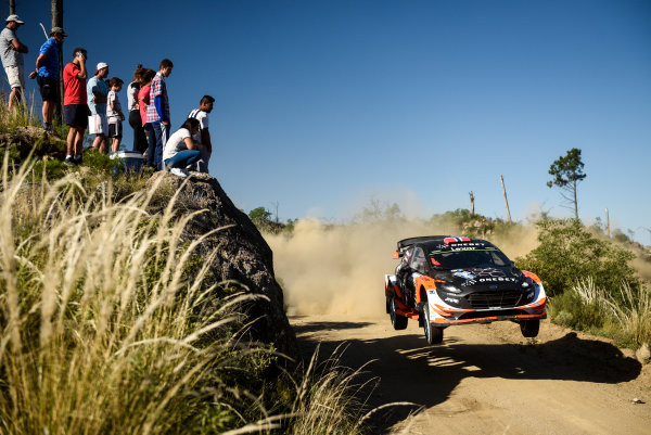 2017 FIA World Rally Championship, Round 05, Rally Argentina, April 27-30, 2017, Mads Ostberg, Ford, Action, Worldwide Copyright: McKlein/LAT