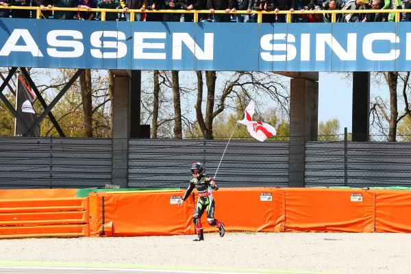 2017 Superbike World Championship - Round 4 Assen, Netherlands. Sunday 30 April 2017 Race winner Jonathan Rea, Kawasaki Racing World Copyright: Gold and Goose Photography/LAT Images ref: Digital Image WSBK-1230