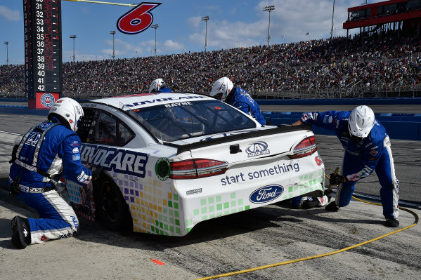 2017 Monster Energy NASCAR Cup Series Auto Club 400 Auto Club Speedway, Fontana, CA USA Sunday 26 March 2017 Trevor Bayne World Copyright: Rusty Jarrett/LAT Images ref: Digital Image 17FONrj_5797