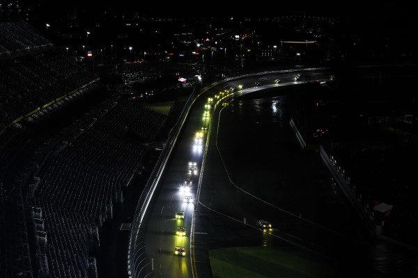 2017 Rolex 24 Hours. Daytona, Florida, USA. Saturday 28 January 2017. 66, Ford, Ford GT, GTLM, Joey Hand, Dirk Muller, Sebastien Bourdais World Copyright: Michael L. Levitt/LAT Images