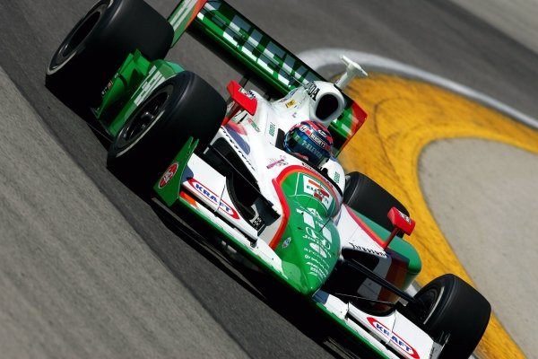 Tony Kanaan practices for the ABC Supply Company - A.J. Foyt 225, The Milwaukee Mile, Milwaukee, WI, 24, July, 2005.  05irl10IRL IndyCar Series, Rd10, ABC Suppy Company - A.J. Foyt 225, The Milwaukee Mile, Milwaukee, Wisconsin, 24 July 2005.DIGITAL IMAGE