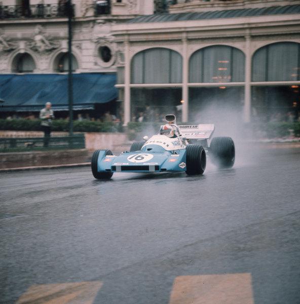 Monte Carlo, Monaco.11-14 May 1972.Chris Amon (Matra-Simca MS120C) 6th position.Ref-3/5067F.World Copyright - LAT Photographic