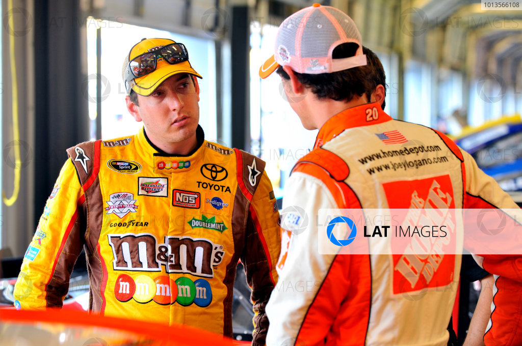 7-9 July, 2011, Sparta, Kentucky USAKyle Busch, M&M's Toyota Camry and Joey Logano, The Home Depot Toyota Camry(c)2011, LAT SouthLAT Photo USA