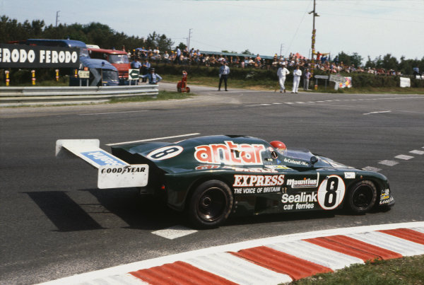 Le Mans, France. 9th - 10th June 1979 Franois Migault/Alain de Cadenet (De Cadenet LM Ford), retired, action. World Copyright: LAT Photographic Ref: 79LM30.