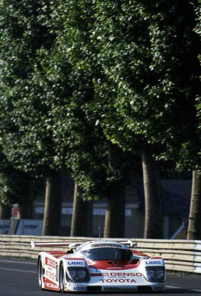 Roland Ratzenberger (AUT) Toyota Team SARD. Le Mans 24 Hours, Le Mans, France, 16-17 June 1990.