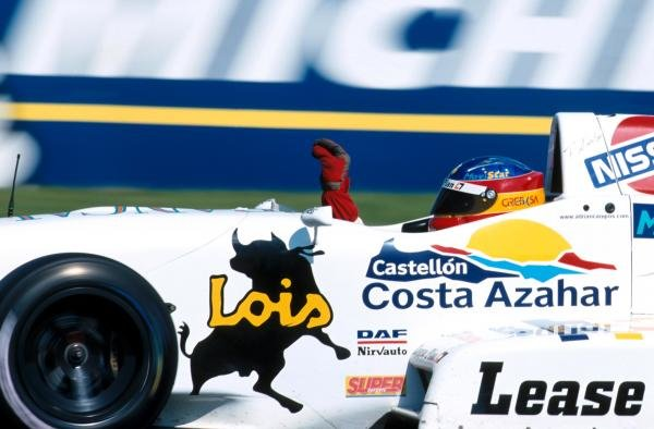 Fernando Alonso (ESP) took victory in both of the races.  Open Fortuna Championship, Donington Park, 5 September 1999.