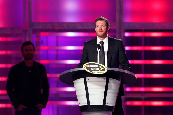 3-6 December, 2013, Las Vegas, Nevada USA Dale Earnhardt Jr during Sprint Cup Awards Banquet © 2013, Russell LaBounty LAT Photo USA