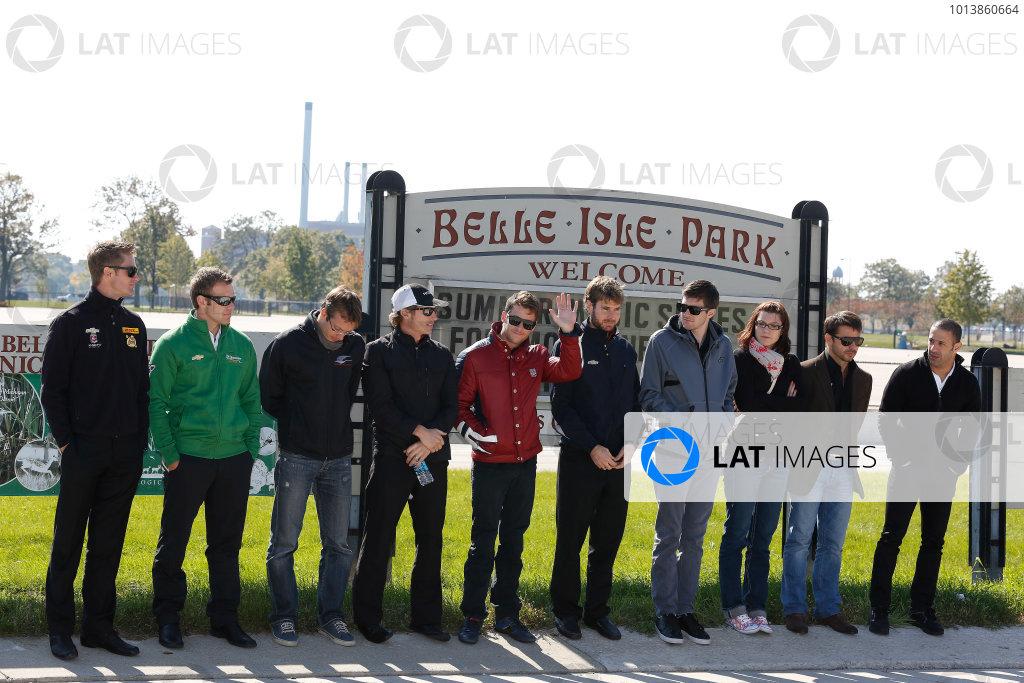 2013 Detroit Belle Isle Grand Prix press conference
