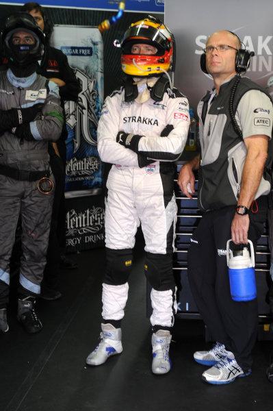 Circuit de La Sarthe, Le Mans, France. 13th - 17th June 2012. RaceJonny Kane, Strakka Racing, No 21 HPD ARX 03a - Honda. Photo: Jeff Bloxham/LAT Photographic. ref: Digital Image DSC_4889