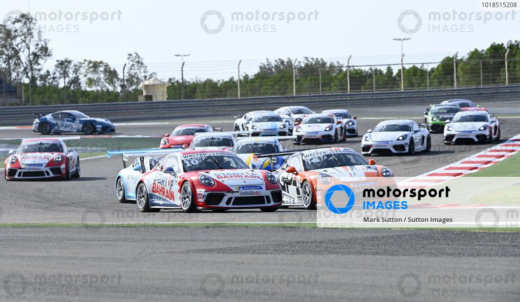 Ali Al Khalifa (BAH), Team Bahrain, battle at start of race