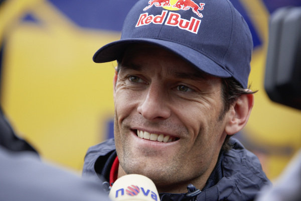 Mark Webber.