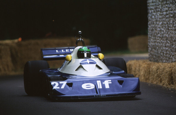 2000 Festival of Speed.Goodwood, England, Great Britain. 23-25 June 2000.Martin Stretton (1977 Tyrrell P34-Ford Cosworth).World - LAT Photographic
