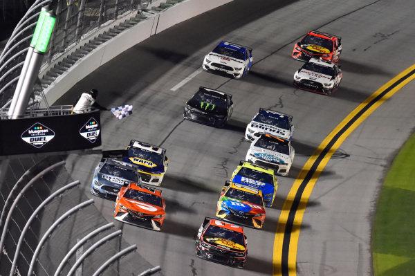 #3: Austin Dillon, Richard Childress Racing, Chevrolet Camaro #23: Bubba Wallace, 23XI Racing, Toyota Camry
