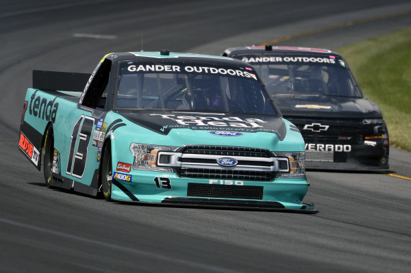 #13: Johnny Sauter, ThorSport Racing, Ford F-150 Tenda Products