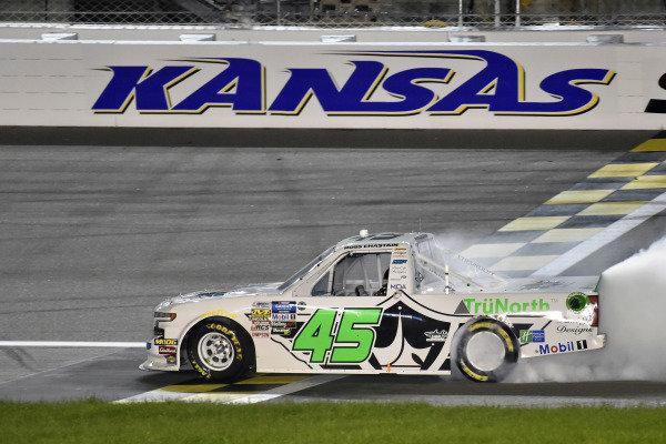 #45: Ross Chastain, Niece Motorsports, Chevrolet Silverado TruNorth/Paul Jr. Designs