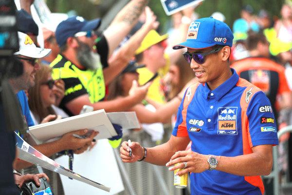 Hafizh Syahrin, Red Bull KTM Tech 3.