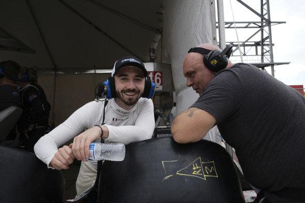 #52 PR1 Mathiasen Motorsports ORECA LMP2 07, LMP2: Gabriel Aubry