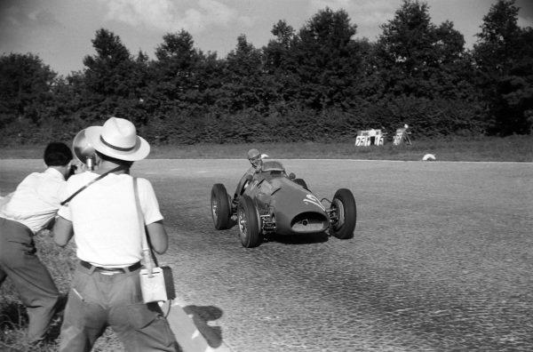 Alberto Ascari, Ferrari 500.
