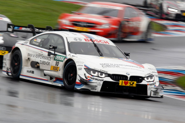 2014 DTM Championship Round 8 - Lausitzring, Germany 12th - 14th September 2014 Martin Tomczyk (GER) BMW Team Schnitzer BMW M4 DTM World Copyright: XPB Images / LAT Photographic  ref: Digital Image 3296217_HiRes