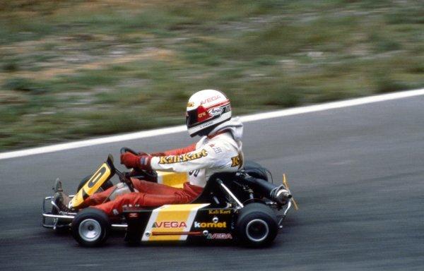 Alessandro Zanardi (ITA).Genk, Belgium, 1987.