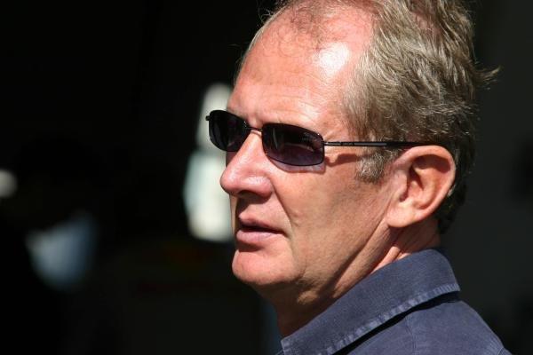 Dr.Helmut Marko (AUT) Red Bull Driver manager.Red Bull US Driver Search, Estoril, Portugal, 12-13 October 2004.DIGITAL IMAGE