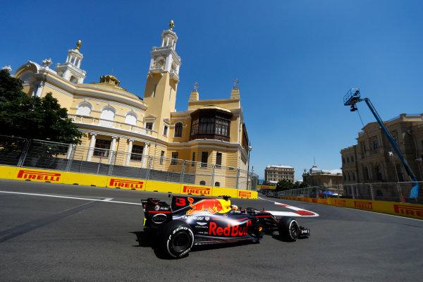 Baku City Circuit, Baku, Azerbaijan. Saturday 24 June 2017. Daniel Ricciardo, Red Bull Racing RB13 TAG Heuer.  World Copyright: Steven Tee/LAT Images ref: Digital Image _R3I2700