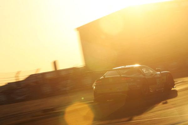 2017 Le Mans 24 Hours Circuit de la Sarthe, Le Mans, France. Thursday 15 June 2017 #95 Aston Martin Racing Aston Martin Vantage: Nicki Thiim, Marco Sorensen, Richie Stanaway  World Copyright: JEP/LAT Images
