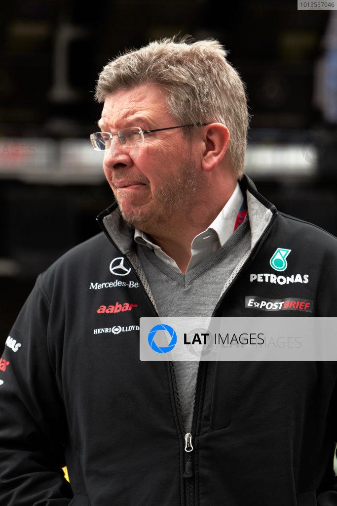 Albert Park, Melbourne, Australia 24th March 2011. Ross Brawn, Team Principal, Mercedes GP. Portrait.  World Copyright: Steve Etherington/LAT Photographic ref: Digital Image SNE23006