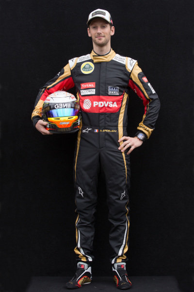 Romain Grosjean (FRA) Lotus at Formula One World Championship, Rd1, Australian Grand Prix, Preparations, Albert Park, Melbourne, Australia, Thursday 12 March 2015.