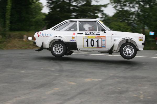 Manx International Historic Rally, Isle of Man 10th-11th July,Gwyndaf Evans/Huw Lewis Ford Escort Mk2World Copyright: Jakob Ebrey/LAT Photographic